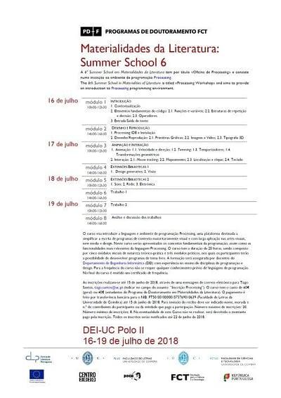 matlit summerschool 06